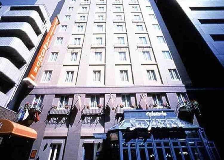 9위. Hotel Monterey La Soeur Ginza