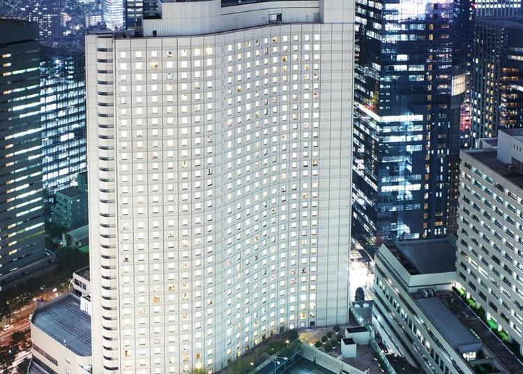 第3名:Hilton Tokyo