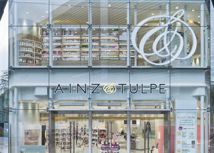 4.AINZ&TULPE Shinjuku East Exit store