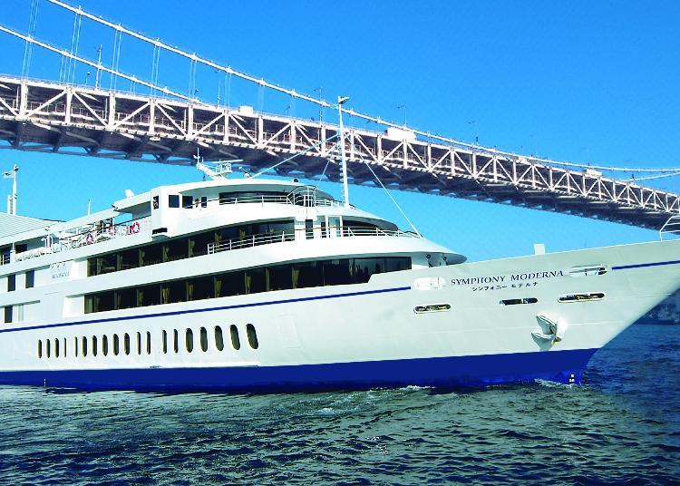 第7名:東京灣・交響樂號巡遊餐廳