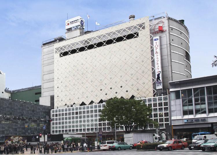 第1名:东急百货店 涩谷站·东横店