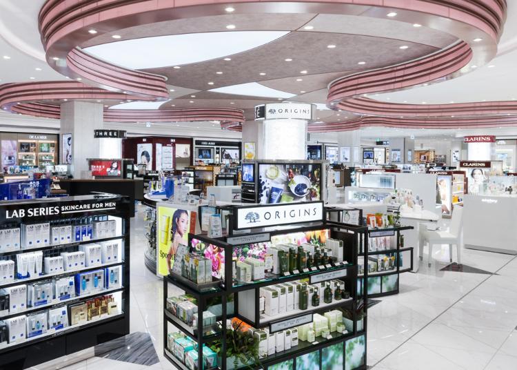 2.Lotte Duty Free Ginza store