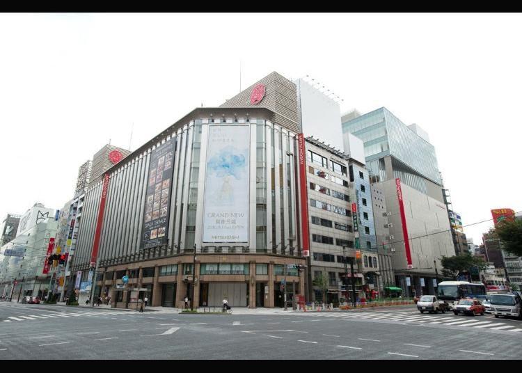 7.Mitsukoshi Ginza