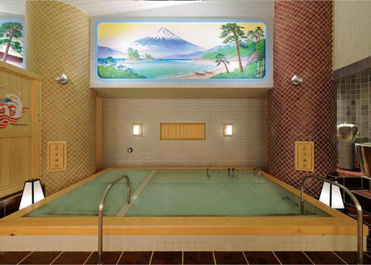 东京及周边地区×温泉、浴池 旅日外国游客热门设施排行榜 2020-2