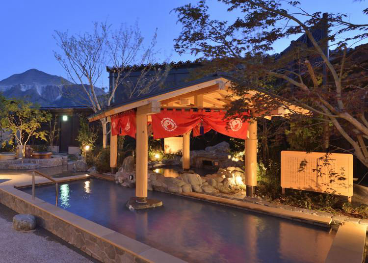 第10名:Matsuri No Yu Hot Springs area at Seibu-Chichibu Station