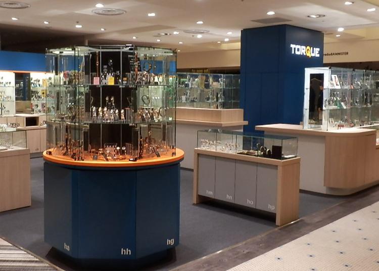 東京買錶人氣第2名:TORQUE 新宿LUMINE EST店