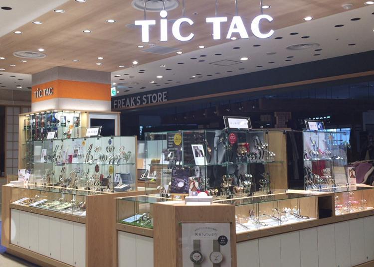 東京買錶人氣第4名:TiCTAC PARCO-ya 上野店