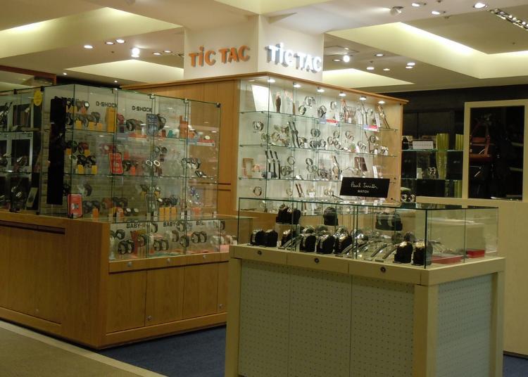 東京買錶人氣第5名:TiCTAC 池袋PARCO店