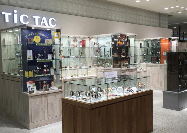 東京買錶人氣第7名:TiCTAC 澀谷Hikarie店