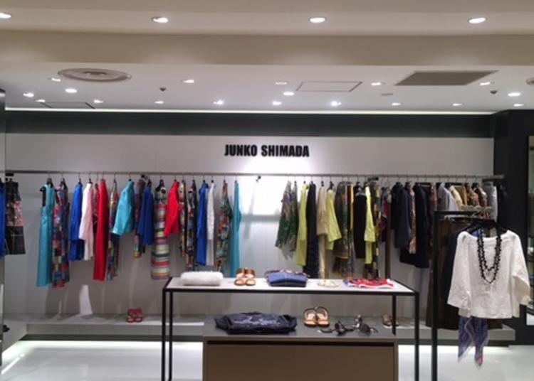 8.The JUNKO SHIMADA Matsuya Ginza flagship store