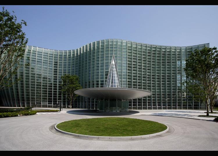 第1名:国立新美术馆