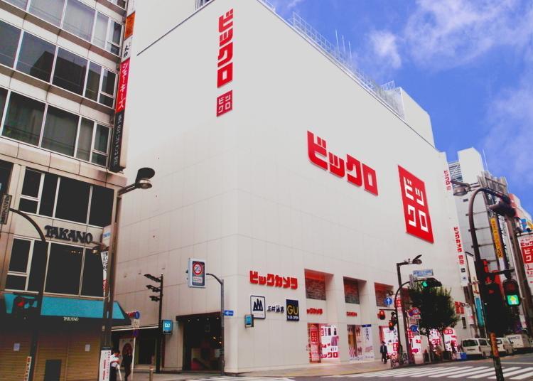 第6名:BICQLO Bic Camera 新宿东口店