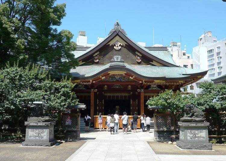 3.Yushima Tenman-gu (Yushima Tenjin)