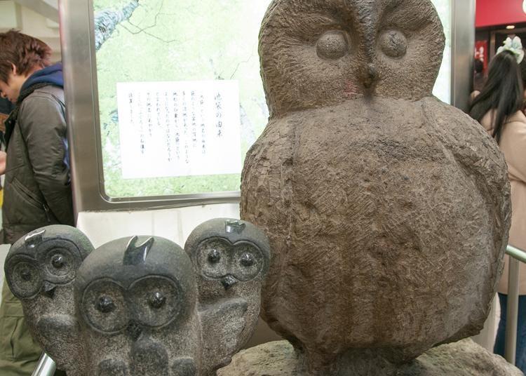 3.Ikefukurou Statue