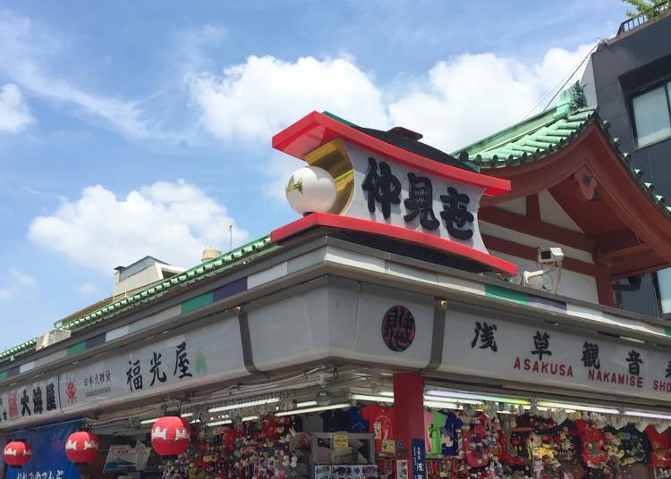 第6名:Fukumitsuya Asakusa Kaminarimon Store