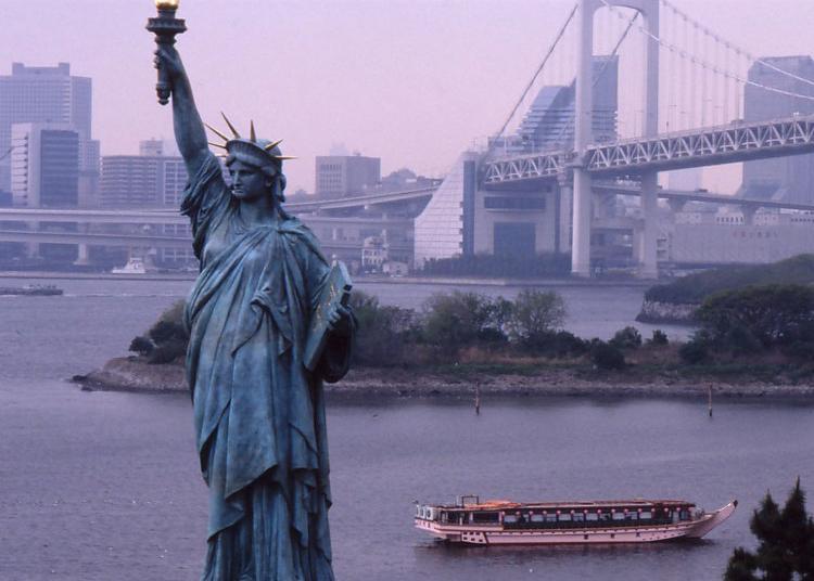 5.Statue Of Liberty, Tokyo