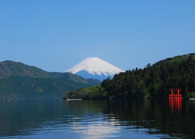 4.Lake Ashi