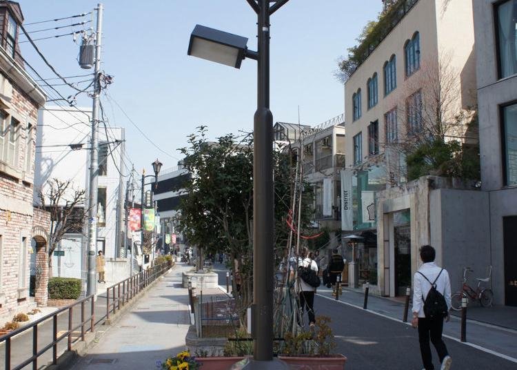 第10名:涉谷Cat Street
