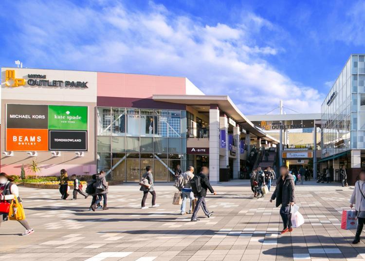 第1名:三井奥特莱斯购物城幕张
