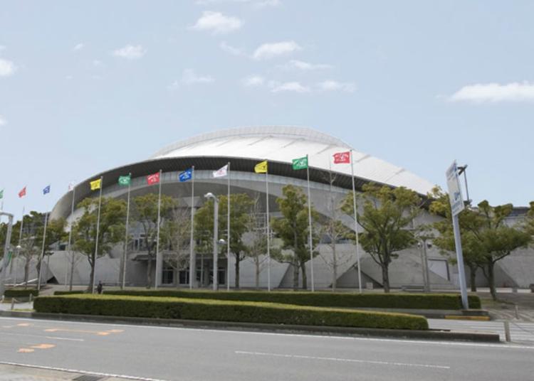 第5名:幕張展覽館