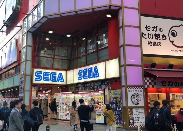 10.Sega Ikebukuro GiGo
