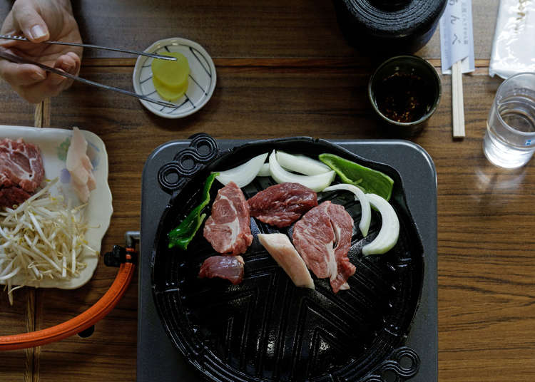Jingiskan no Anbe - the heart of Tono culinary culture
