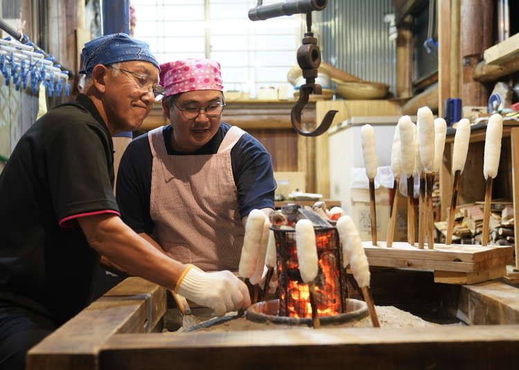 Local delicacies, rice harvesting, and hot spring baths in Akita, northern Japan