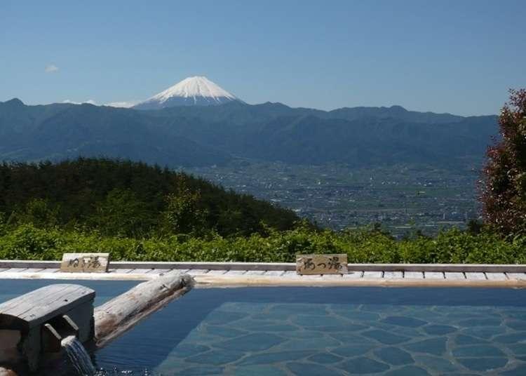 Hot-spring heaven and fruit-park paradise in Yamanashi's Koshu Valley