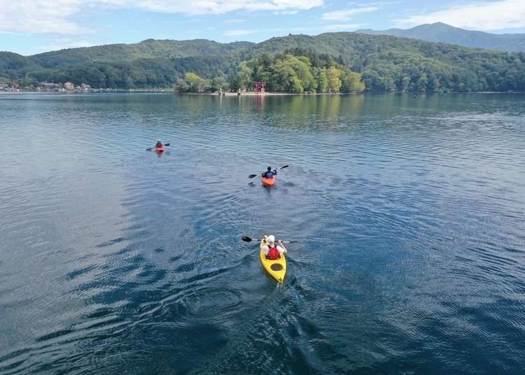 Recharge your batteries with a relaxing, lake-themed break in Nagano