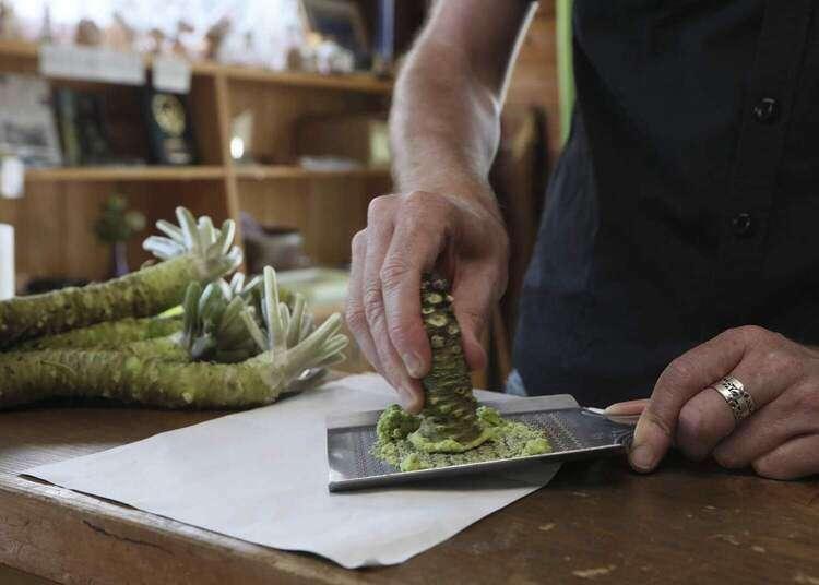 The wonderful world of Shizuoka wasabi