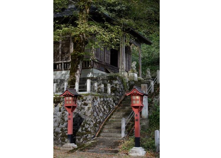 Pray at a shrine that conceals a remarkable surprise