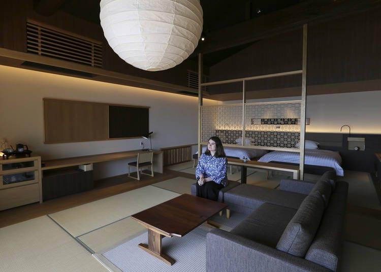 Classic yet modern Japanese decor