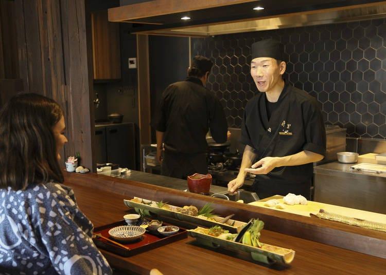 Savor Japanese gourmet cuisine with a twist