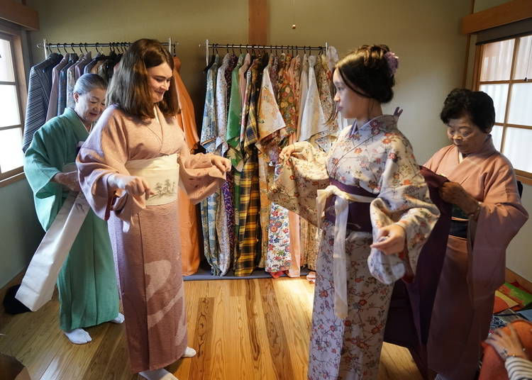 Dig deeper into Japanese culture with a kimono-and-tea-ceremony experience