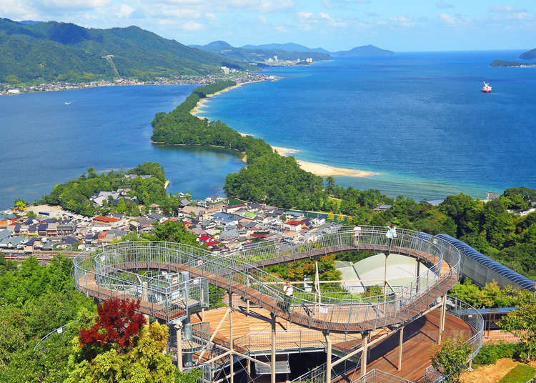 Enjoy incredible views of the Japan Sea; visit an idyllic Kyoto fishing village