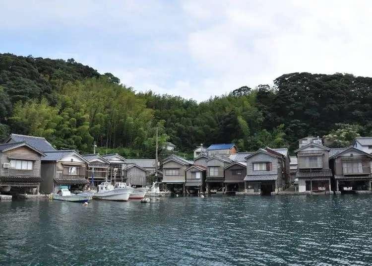 Enjoy incredible views of the Japan Sea; visit an idyllic Kyoto fishing village