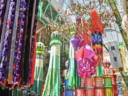 From August 6 to 8: The Tanabata Festival