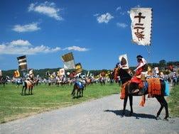 7月最終週の土曜日から3日間:相馬野馬追