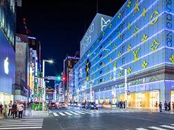Kawasan lintasan Ginza 3-chome