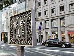 Daerah Sekitar Persimpangan Ginza-itchome