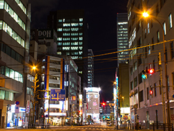 Kanda Myojin-dori Street Area
