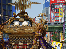 Early to mid-May: Kanda Festival