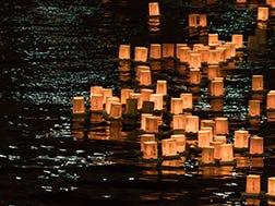 8월 중순 아사쿠사 여름밤 축제 도로우나가시