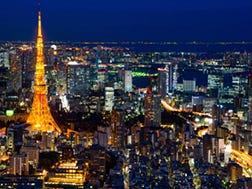 六本木外苑東通・東京鐵塔周邊區域