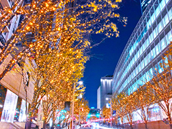 11月上旬~12月下旬 けやき坂イルミネーション