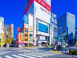 新宿駅東口エリア