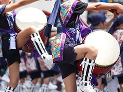 7月下旬 新宿エイサー祭