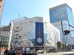 上野广小路站和上野御徒町站周边区域