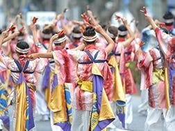 8月下旬 原宿表参道元气祭Superよさこい