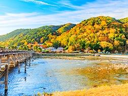Mid-November:Arashiyama Momiji Festival